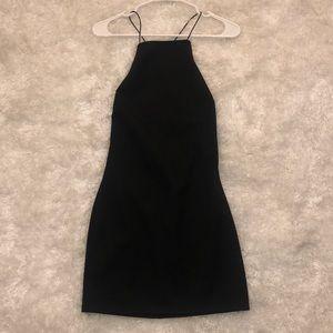 Black Mini Dress from Tobi